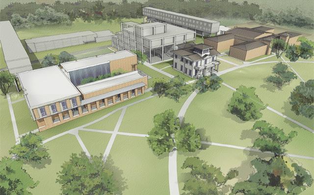 Kemper Smith Bennie G Thompson Academic Center Tougaloo
